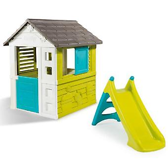 Smoby Pretty House + Slide XS (Outdoor , Houses And Stores)