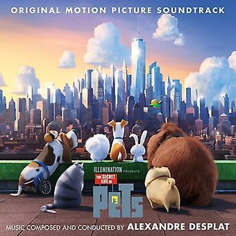 Alexandre Desplat - Secret Life af kæledyr (Score) / O.S.T. [CD] USA import