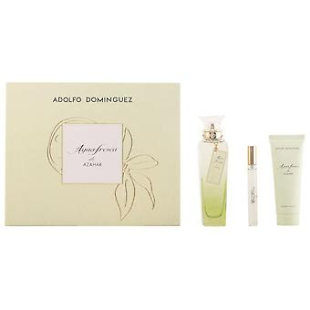 Adolfo Domínguez Fresh water Azahar Pack 3 Pieces (Man , Perfumes , Gift Wraps)