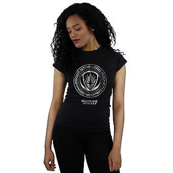 Guardianes de la mujer maravilla del galaxia metálico sello t-shirt