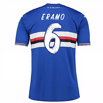 2016 / 17 Sampdoria Home Shirt (Eramo 6) - Kinder
