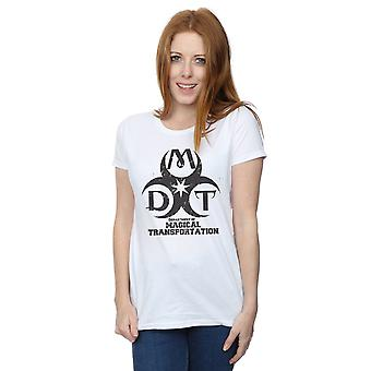 Harry Potter Women's Department of Magical Transportation Logo T-Shirt