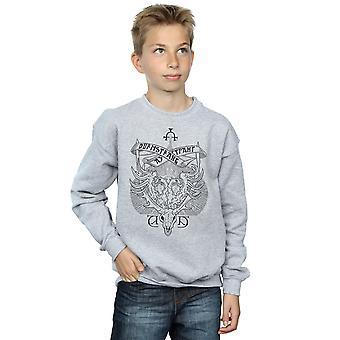 Harry Potter garçons Durmstrang Institute Crest Sweatshirt