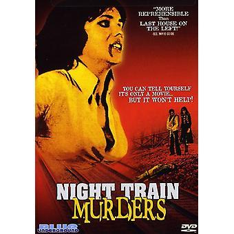 Night Train mord [DVD] USA importerer