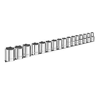 Britool E032902B Socket Set 16 Piece 1/2 In Drive
