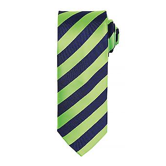 Premier Mens Club Stripe Pattern Formal Business Tie