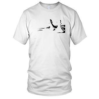 Chess B&W Design Mens T Shirt
