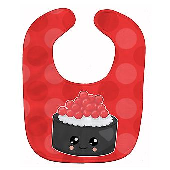 Carolines Treasures  BB8803BIB Sushi Roll with Face Baby Bib