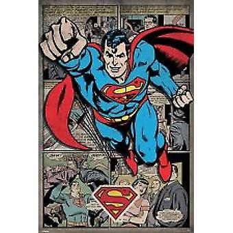 Superman Poster Poster Print by