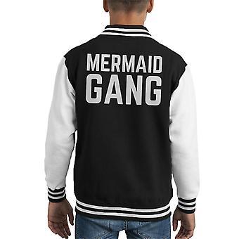Mermaid Gang Kid's Varsity Jacket