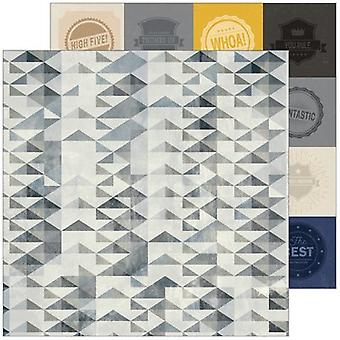 Boys Fort Double-Sided Cardstock 12