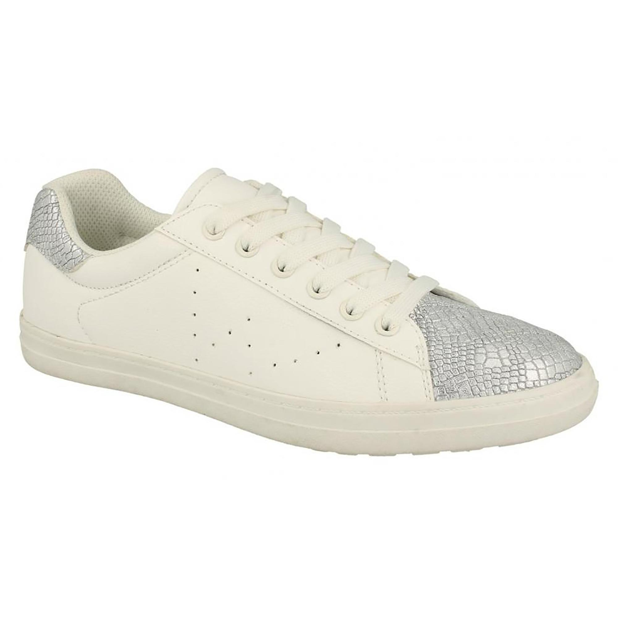 Womens Up Ladies Spot Lace Toecap On Trainers Snake WBpZpHO