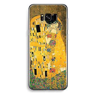 S8 de Samsung Galaxy Plus caja transparente (suave) - Der Kuss