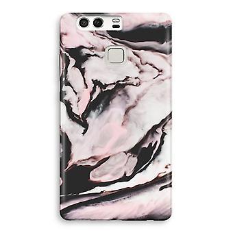 Huawei P9 Full Print Case - Pink stream