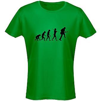 Gitaar Evo Evolution muziek Womens T-Shirt 8 kleuren (8-20) door swagwear