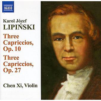 Karol Jozef Lipinski - Karol Lipinski: Importazione capricci opp. 10 e 27 Stati Uniti [CD]