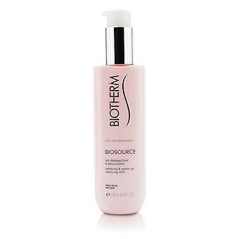 Biotherm Biosource Softening & Make-Up Removing Milk - For Dry Skin 200ml/6.76oz