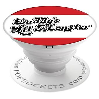 POPSOCKETS Daddy's Lil Monster adhesive Holder/set Premium Suicide Squad