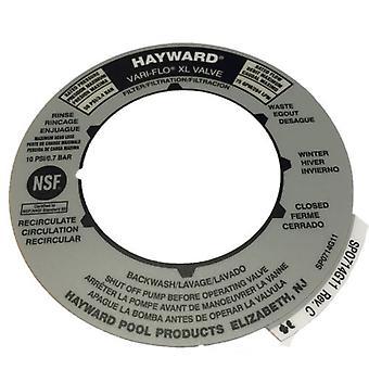 Etiqueta de la válvula Hayward SPX0714G
