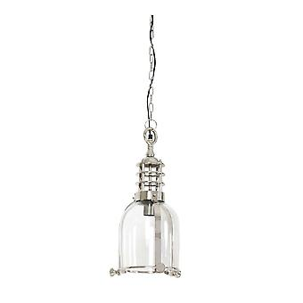 Light & Living Hanging Pendant Lamp D23x47cm Maggy Glass Nickel
