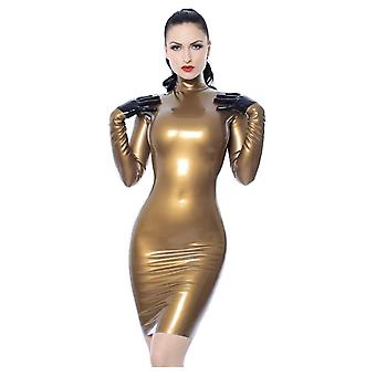 Westward Bound Elegance Latex Rubber Dress.