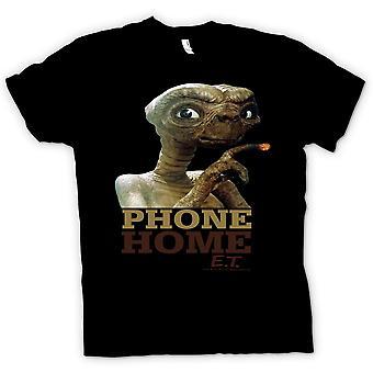 المرأة تي شيرت-الهاتف ET الغريبة-لطيف-الصفحة الرئيسية