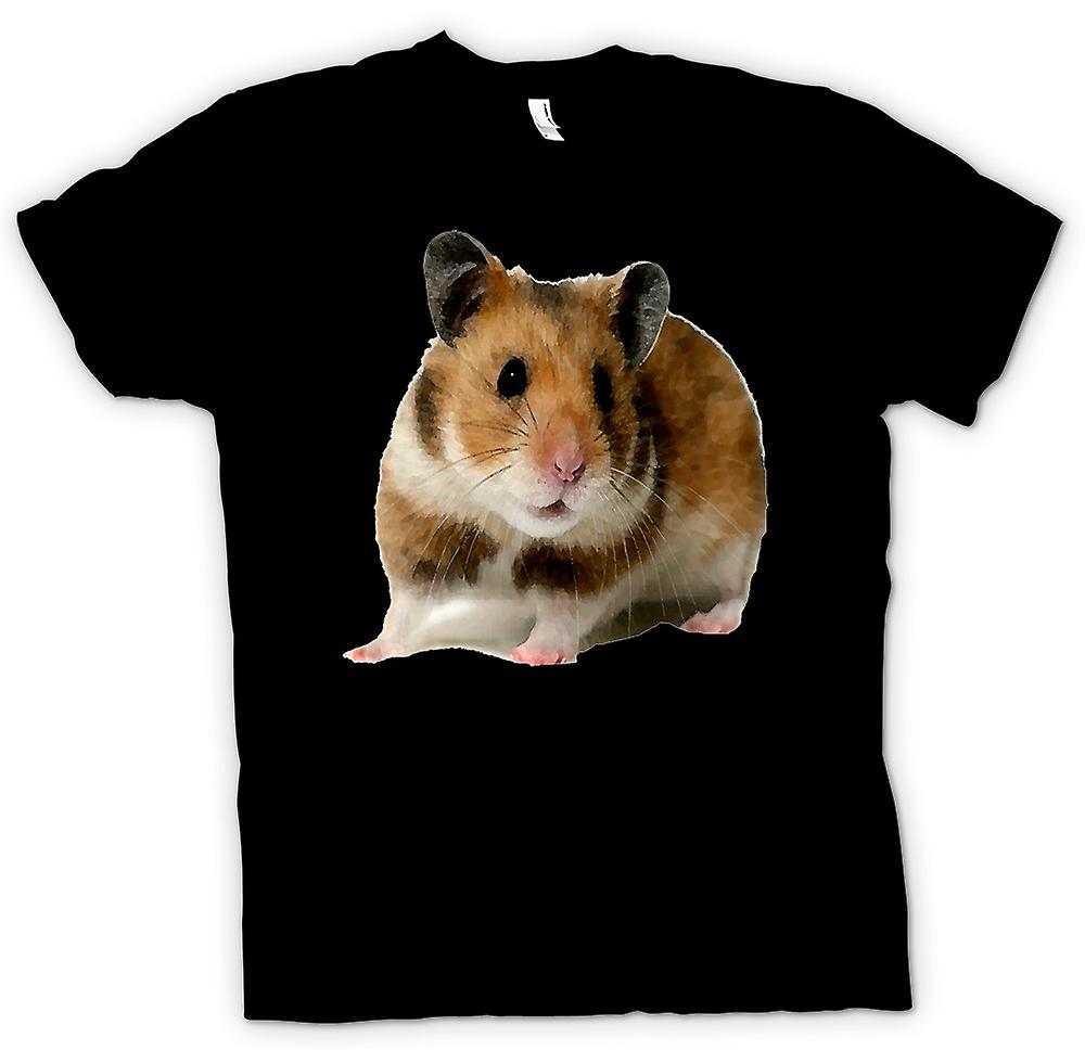 Womens T-shirt -  Hamster - Pet Animal