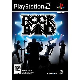 Rock Band - spil kun (PS2)
