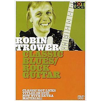 Robin Trower - klassiske Blues/Rock Guitar [DVD] USA import
