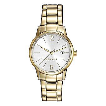 ESPRIT ladies watch bracelet watch Abbie stainless steel gold ES100S62013