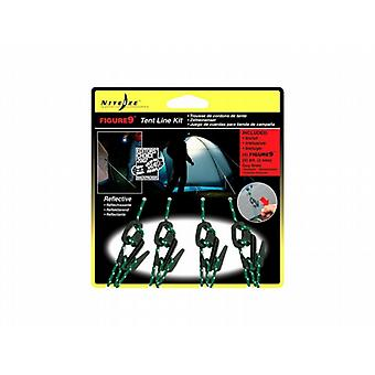 Nite Ize Figure 9 Small Plastic 4Pc Tent Line Kit