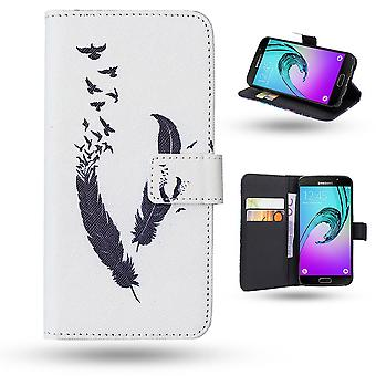 Samsung Galaxy A5 2016-Case/wallet Leather-Springs