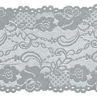 Stretch Galloon Lace Trim 6-1/8