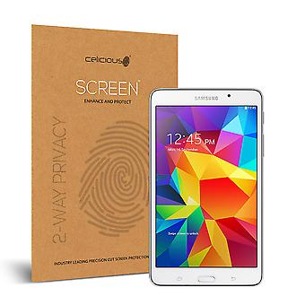 Celicious Privacy 2-Way Anti-Spy Filter Screen Protector Film Compatible with Samsung Galaxy Tab 4 7.0
