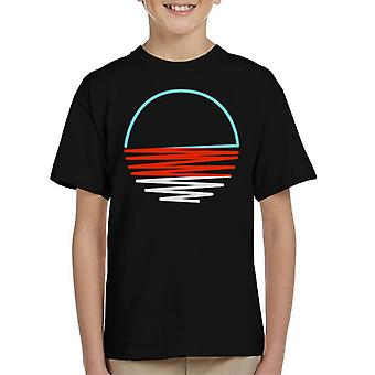 Sunset Shine Kid's T-Shirt