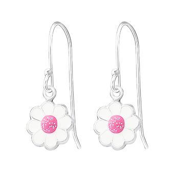 Flower - 925 Sterling Silver Earrings