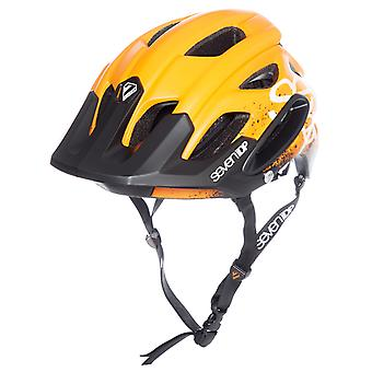 7iDP Orange-Black-White 2018 M2 - Gradient MTB Helmet
