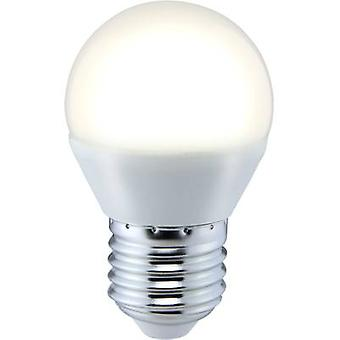 Sygonix LED EEC A+ (A++ - E) E27 Droplet 5 W = 35 W Warm white (Ø x L) 45 mm x 73 mm 1 pc(s)