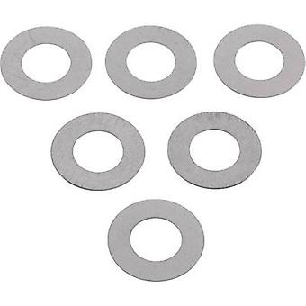 Steel Shim ring 6 mm 12 mm 0.2 mm 20 pc(s)