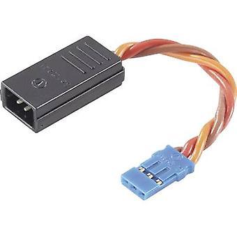 Servo Y cable [2x Futaba plug - 1x Futaba socket] 0.50 mm² Modelcraft