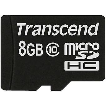 Transcend Premium microSDHC card 8 GB Class 10