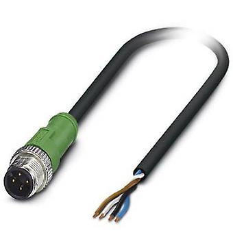 كبل جهاز استشعار/المشغل ب ساك-ف 4-M12MS/2، 0--PVC-L 1431490 الاتصال فينيكس