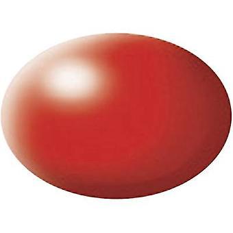 Aqua paint Revell Fluorescent red (semi-gloss) 332 Can