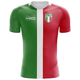 2018-2019 Италия флага концепции футболка