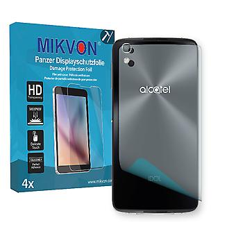 Alcatel Idol 4 reverse Screen Protector - Mikvon Armor Screen Protector (Retail Package with accessories)