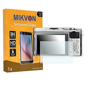 Fujifilm X-A3 Screen Protector - Mikvon flexible Tempered Glass 9H (Retail Package with accessories)