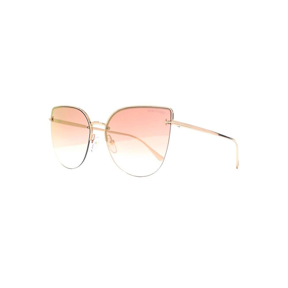 065b90bab57e Tom Ford Ingrid 02 Sunglasses In Gold Pink Mirror
