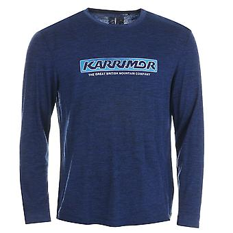Karrimor Mens Merino Long Sleeve Walking Top Performance Shirt Crew Neck