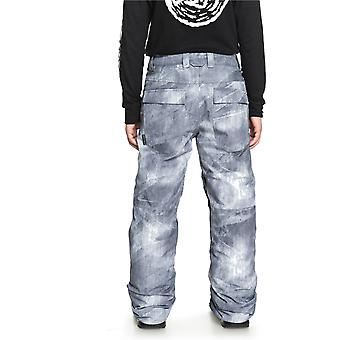 Quiksilver Grey-Simple Texture Estate Kids Snowboarding Pants