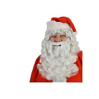 Barba e baffi barba imposta kanekalon di Babbo Natale